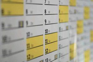 Kulturkalender für die Region