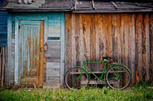 Fahrräder und Schuppen winterfest machen
